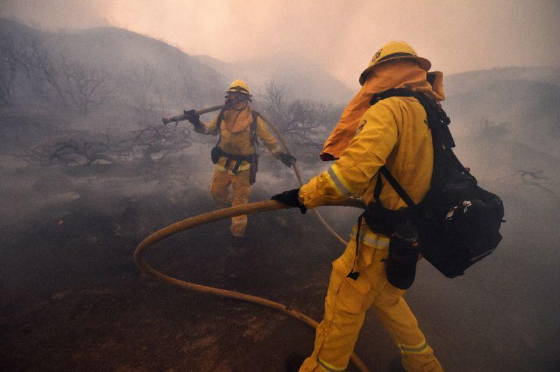California blazes threaten populated areas