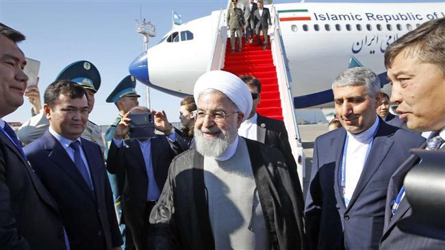 Rouhani in Kazakhstan to sign landmark Caspian convention