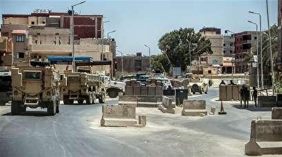 Egypt's police kill 12 suspected terrorists in northern Sinai: Ministry