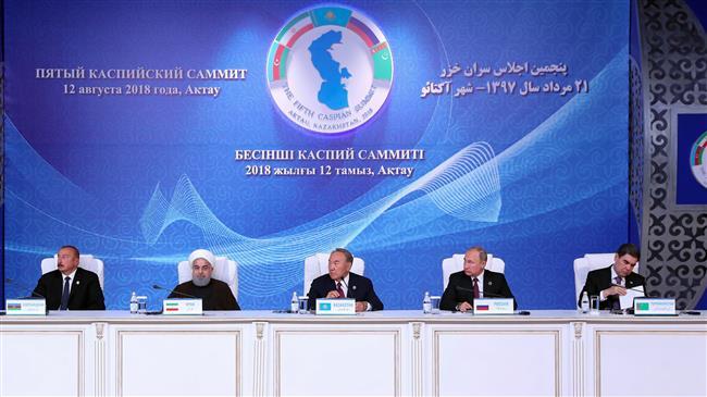 Caspian Sea states sign landmark convention on sea's legal status