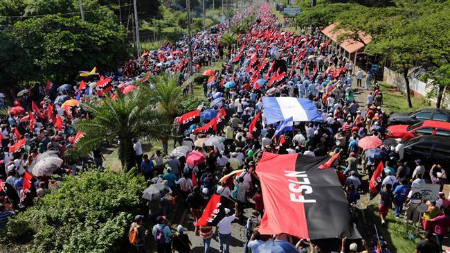 Pro-Ortega supporter shot dead in Nicaragua rally