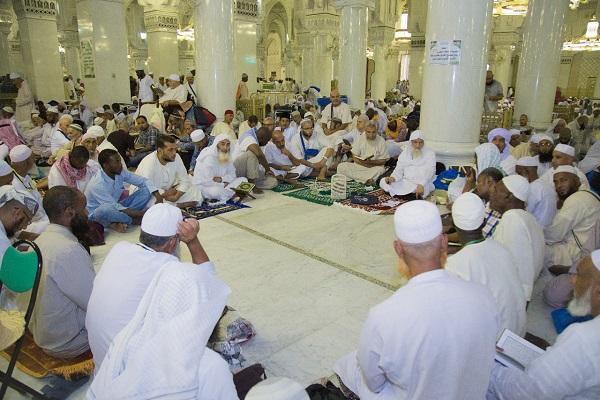 Quranic circles held for Hajj Pilgrims in Medina