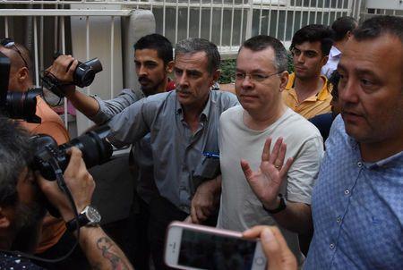 U.S. Embassy in Ankara has not made statement regarding pastor Brunson: official