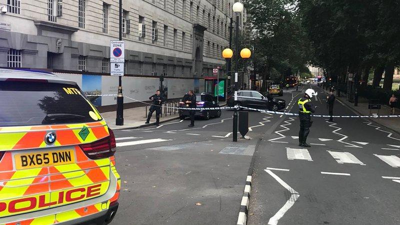 No life-threatening injuries in UK parliament crash: police