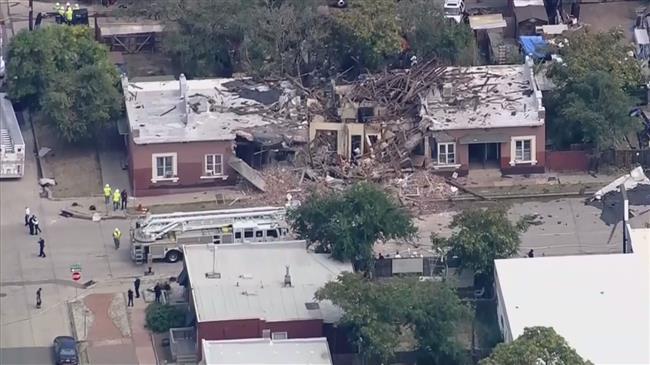 Nine hurt as gas explosion levels Denver building