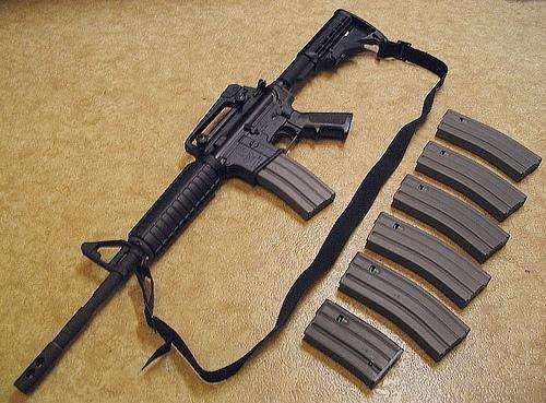 Nebraska police mull arming school guards with assault rifles