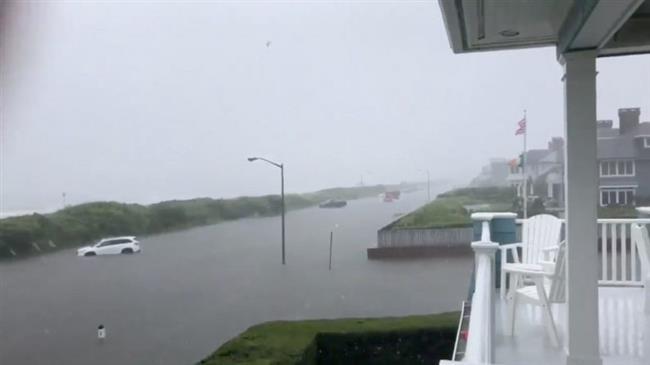 Evacuations as 'historic' floods hit northeastern US