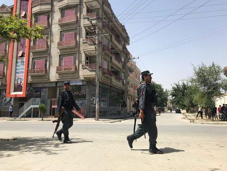 Gunmen attack intelligence service center in Afghan capital Kabul