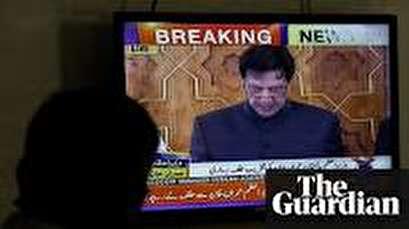 Former cricketer Imran Khan sworn in as Pakistan's PM