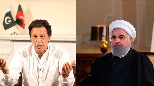 President Rouhani calls for better Iran-Pakistan ties under Imran Khan