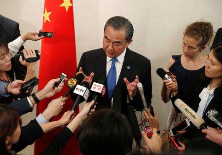 China calls for peace mechanism for Korean peninsula