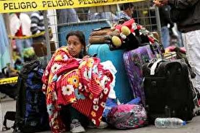 Desperate Venezuelans defy Ecuador's passport rules and cross border
