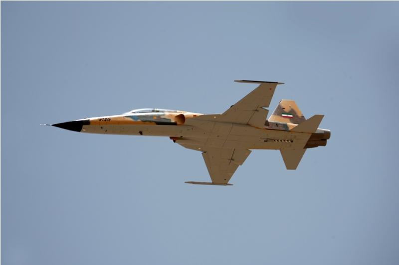 Iran unveils domestic fighter jet