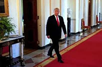 Factbox: Trump on Twitter (Aug 21) - Blue wave, Brennan