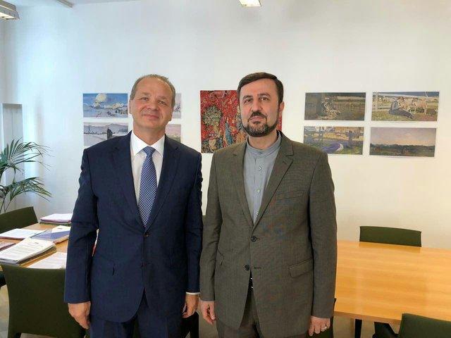 Iran, Switzerland discuss mutual cooperation