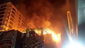 Fire in multi-story building in India's Mumbai kills 4