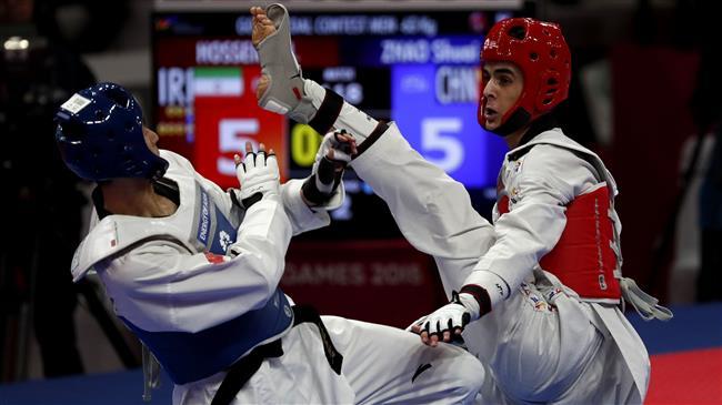 2018 Asian Games: Iran's Hosseini grabs gold in Taekwondo -63kg category
