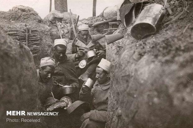 Rare photos of World War II