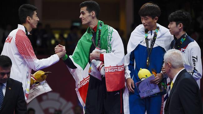 Taekwondo: Iran grabs 2 more medals at Asian Games