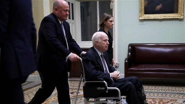 Jingoist Senator McCain of Arizona dies