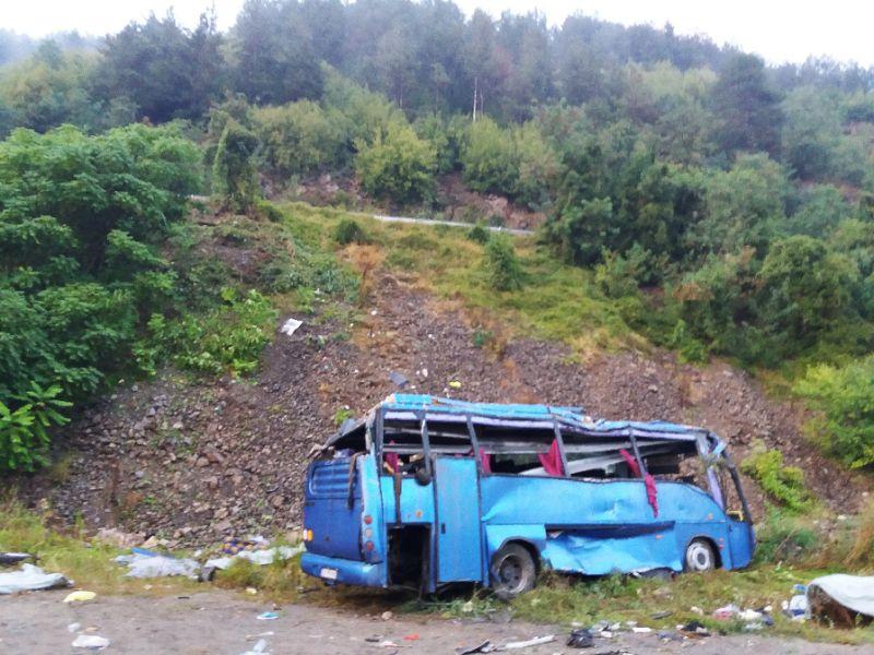 16 dead in Bulgarian bus crash: minister
