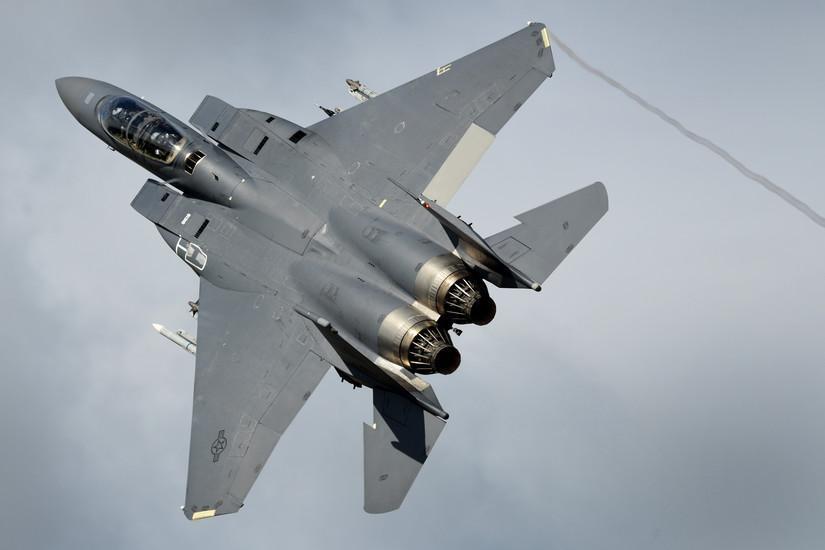 U.S. F-15s participate in U.K. exercise Typhoon Warrior
