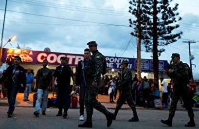 Brazil sends army to border as Venezuelans flee crisis at home