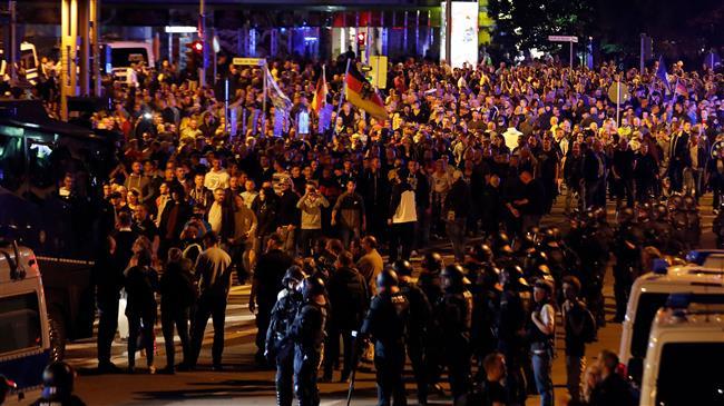 German police under fire amid far-right violence in Chemnitz