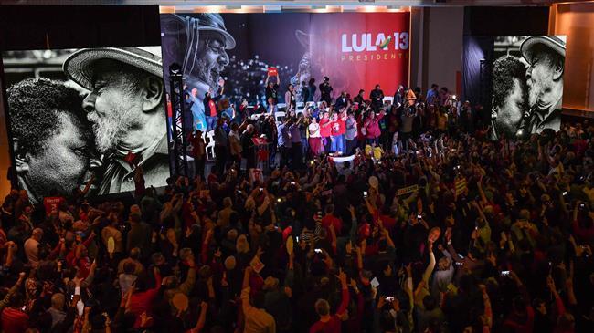 Brazil's Lula nominated for president behind bars