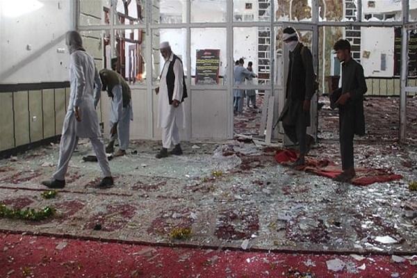 Afghan president slams bombing against Shia mosque