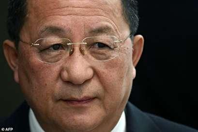 North Korean FM to visit Iran Tuesday