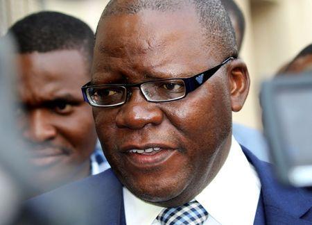 Zimbabwe opposition leader Biti in custody after Zambia deports him
