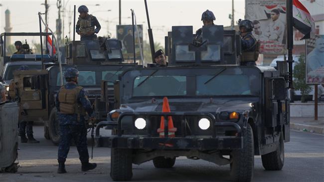 Iraqi troops kill 14 Daesh terrorists, destroy 4 armored vehicles in Anbar