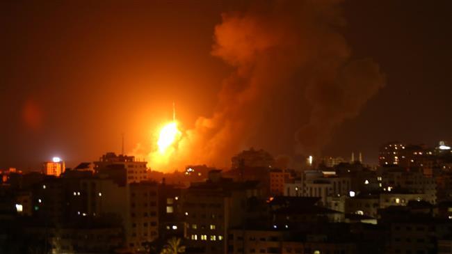 Israeli jets bomb Gaza again amid threat of new war