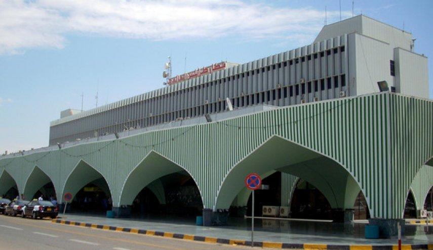 Tripoli's international airport shot down