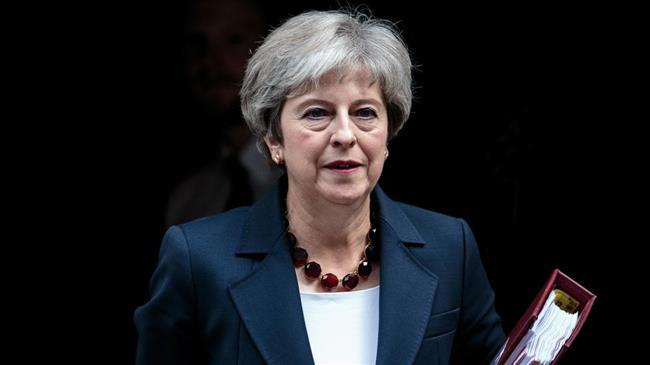 British PM faces surging party dissent against Brexit plan