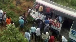 Bus crash in India's Telangana state kills at least 53