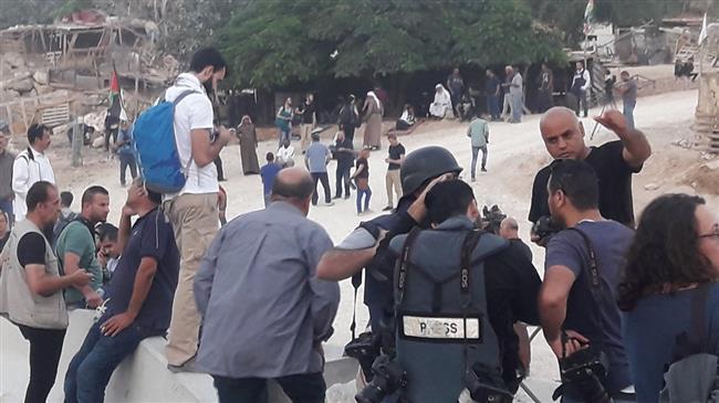 Israeli military sends reinforcements to Palestinian village to begin its demolition