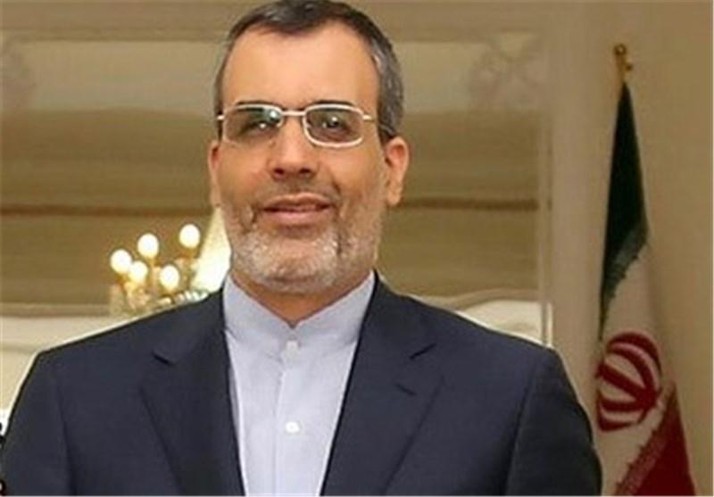 Iranian diplomat holds talks in Paris on Syria peace