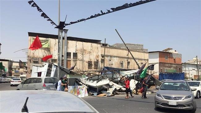 Saudi forces attack Muharram mourning tents in Qatif