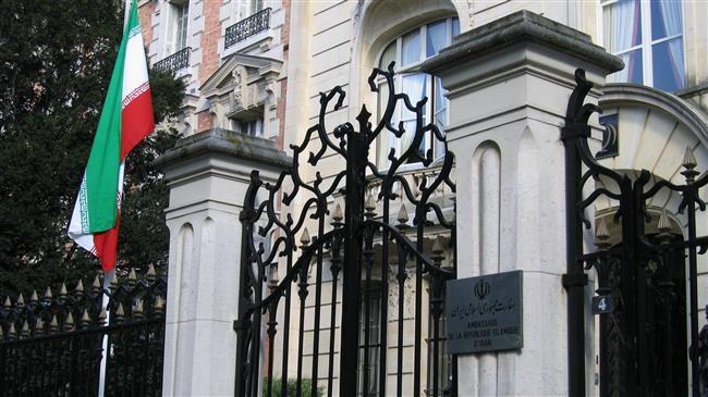 Terrorists attack Iran's embassy in Paris: Report