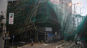 Typhoon Mangkhut batters Hong Kong, Shenzhen