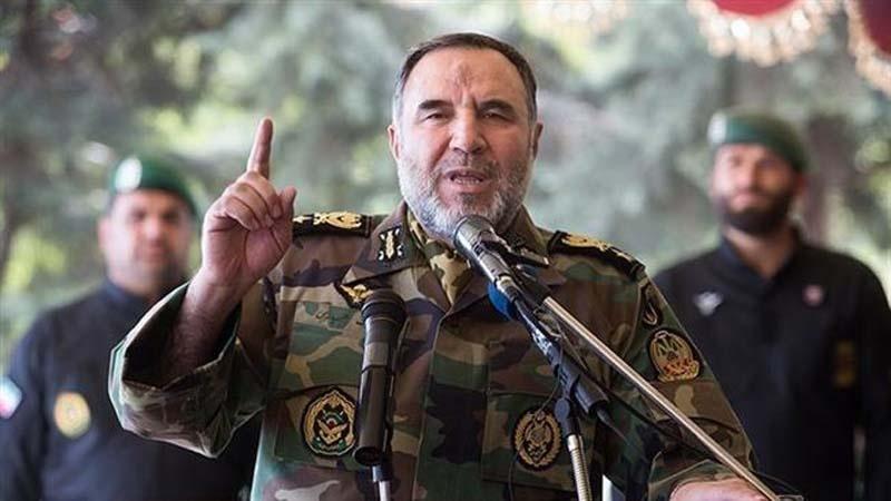 Army commander says no danger threatening Iran