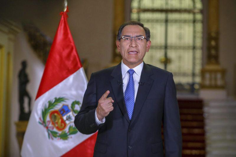 Peru president faces standoff with congress over referendum