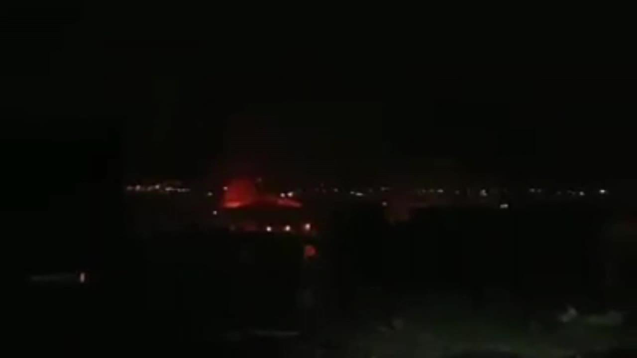 Multiple blasts heard at airbase in Damascus suburbs