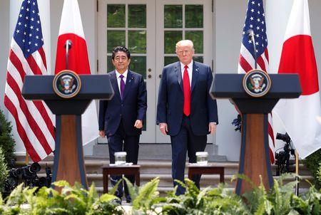 Japan PM Abe, U.S. President Trump to hold summit on Sept 26