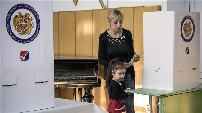 Armenia's capital holds snap municipal elections