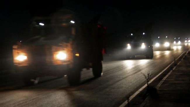 Turkish military vehicles enter Syria's Idlib after militant snub