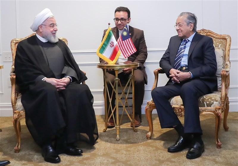 Iran's Rouhani, Malaysia's Mahathir stress closer Tehran-Kuala Lumpur ties