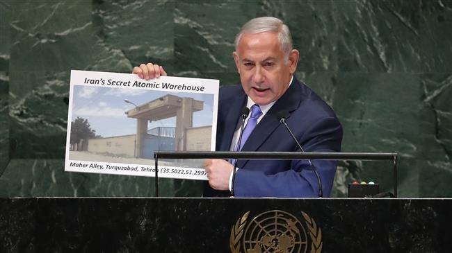 Netanyahu puts on new anti-Iran show at UN, repeats baseless nuclear claims